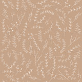 Hand-drawn branches graphic design elements background. Hand-drawn branches graphic design elements seamless background. Useful for wedding invitations Royalty Free Stock Photos