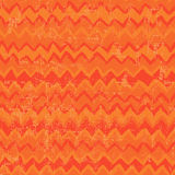 Hand drawn bright tribal seamless pattern in orange Stock Photos
