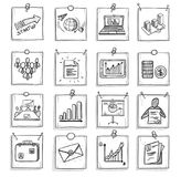 Hand Drawn Business Concept Stock Images