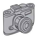 Hand drawn camera Royalty Free Stock Images