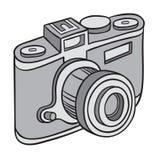 Hand drawn camera Royalty Free Stock Photography