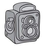 Hand drawn camera Stock Photos