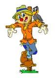 Happy Scarecrow Royalty Free Stock Photography