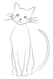 Hand drawn cat Royalty Free Stock Photo