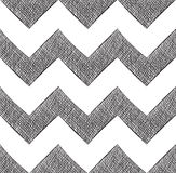 Hand drawn chevron Royalty Free Stock Photo