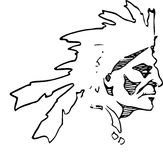 Hand Drawn Chief /eps Royalty Free Stock Photo