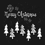 Hand drawn Christmas seamless pattern with Christmas decoration.Unique hand drawn texture. Holiday background for web page. Gift w Royalty Free Stock Photography