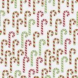 Hand drawn christmas seamless pattern Royalty Free Stock Photos