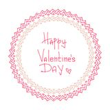 Valentines borders-14 Royalty Free Stock Images