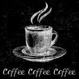 Hand drawn coffee cup Stock Photo