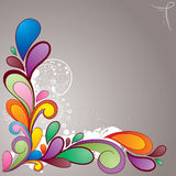 Hand_drawn_colorful_background Royalty Free Stock Photography