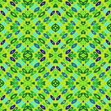 Hand drawn colorful geometric pattern Royalty Free Stock Photos