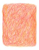 Hand-drawn crayon scribble background Royalty Free Stock Photography
