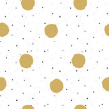 Hand drawn creative background. Simple minimalistic  seamless pattern. Royalty Free Stock Photos