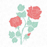 Hand drawn decorative vector floral elements for design. Page decoration element Stock Photo