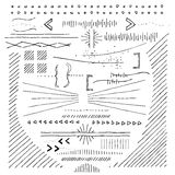 Hand Drawn Doodads,  Sketches And Elements Royalty Free Stock Images