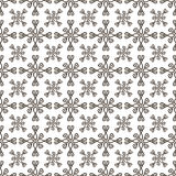 Hand-drawn doodle background. Hand-drawn doodle floral seamless pattern. Abstract background.Vector illustration Stock Photography