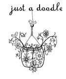 Hand drawn doodle illustration Stock Photography