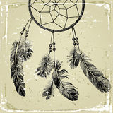 Hand drawn dream catcher Stock Photos