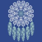 Hand-drawn Dream Catcher, Protection, American Indians Royalty Free Stock Photography
