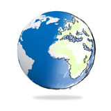 Hand drawn the earth Royalty Free Stock Photo