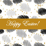 Hand drawn Easter eggs. Royalty Free Stock Image
