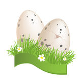 Hand-drawn easter sketch Stock Image
