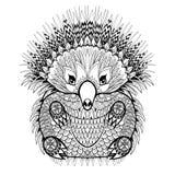 Hand drawn Echidna, Australian animal illustration for antistres Stock Photos