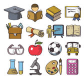 Hand drawn education Royalty Free Stock Photo
