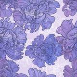 Hand drawn elegance  floral vignette Royalty Free Stock Images