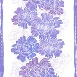 Hand drawn elegance  floral vignette Royalty Free Stock Photos