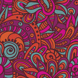 Hand drawn  ethnic endless pattern Stock Photo
