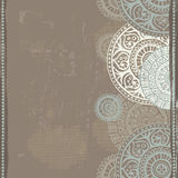 Hand drawn ethnic   seamless border Royalty Free Stock Images