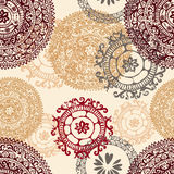 Hand drawn  ethnic seamless pattern Royalty Free Stock Photography