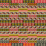 Hand drawn ethnic. Seamless pattern design Royalty Free Stock Image