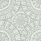 Hand drawn ethnic  shabby seamless pattern Stock Photography