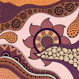 Hand-drawn ethno pattern, tribal background. It can be used for wallpaper, web page, bags, print and others. African style. Vector vector illustration