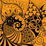 Hand-drawn ethno zentangle pattern, tribal background. It can be used for wallpaper, web page, bags, print and others. African sty. Le. Vector vector illustration