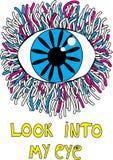 Hand-drawn eye Stock Image