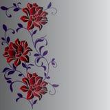 Hand drawn a fantasy flower Royalty Free Stock Photo