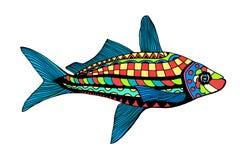 Hand Drawn Fish Royalty Free Stock Photo