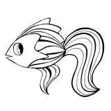 Hand Drawn Fish Stock Photos