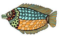 Hand Drawn Fish Stock Images