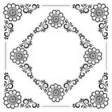 Hand drawn floral background Royalty Free Stock Images