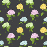 Hand drawn floral pattern Stock Image
