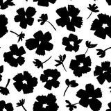 Hand drawn floral pattern Royalty Free Stock Photos
