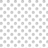 Hand drawn floral pattern / royalty free stock images