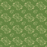 Hand Drawn Floral Seamless Pattern Royalty Free Stock Photography