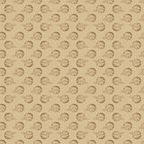 Hand Drawn Floral Seamless Pattern. Floral seamless pattern from hand drawn sketches. Can be used for wallpapers. Optimized for easy color changes. EPS8 vector Stock Photography