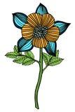 Hand drawn Flower Stock Photos